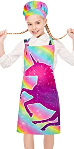 Kids Apron with Chef Hat