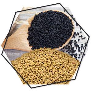 Black Seed (Kalonji), Fenugreek(Methi Daana)