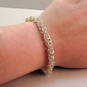 925 Sterling Silver Bolo Sliding Bracelet