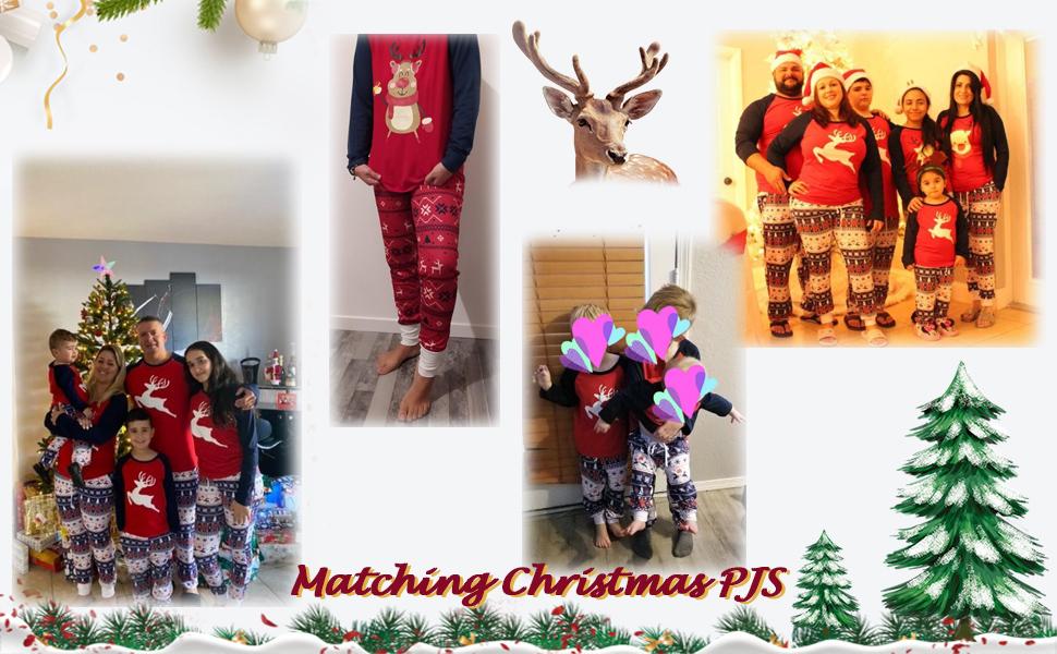pijamas ninos navidad