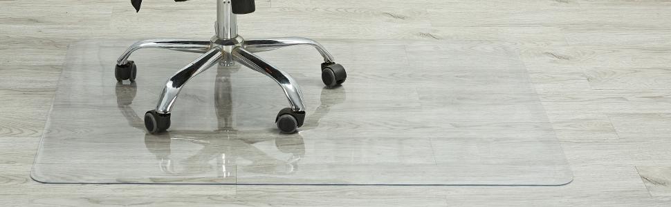 hardwood floor chair mat