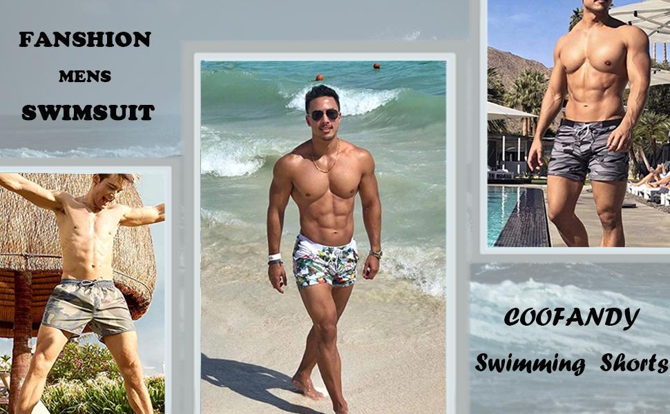 coofandy mens swimming shorts