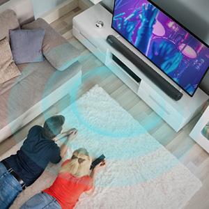 soundbar für tv geräte tv bluetooth heimkino für fernseher subwoofer dolby surround system kabellos