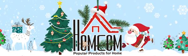 homcom home furniture holiday Xmas Christmas festive decor decoration decorations