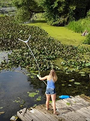 Weed Razer Express Aquatic Weed Cutter For Lakes Ponds Beaches Garden Outdoor