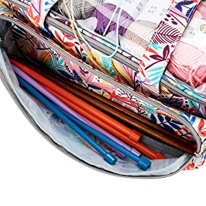 Yarn storage bag ,knitting storage bag, yarn organizer tote bag,storage bag for yarn balls