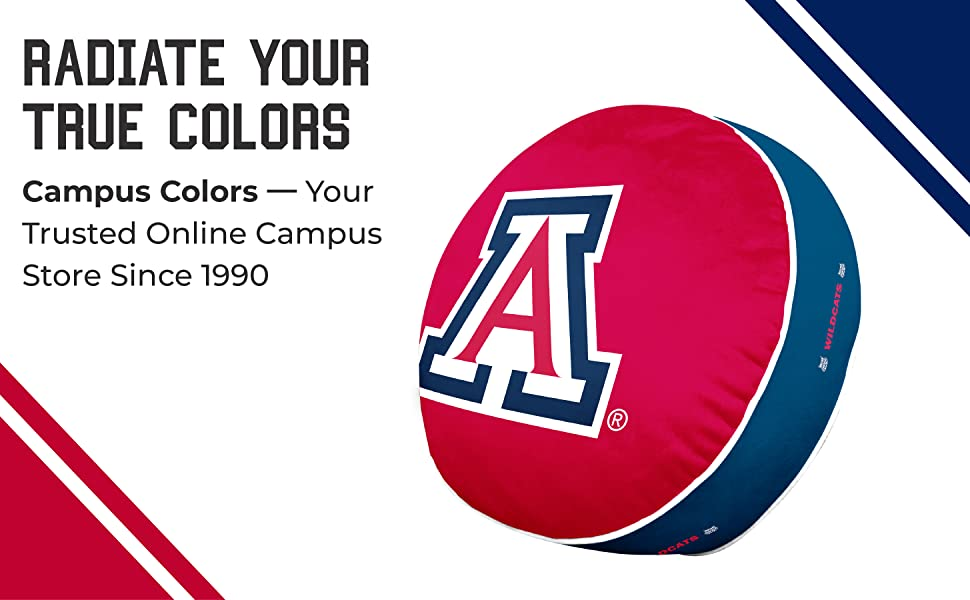 Radiate Your True Colors. Campus Colors -- Your Trusted Online Campus Store Since 1990.