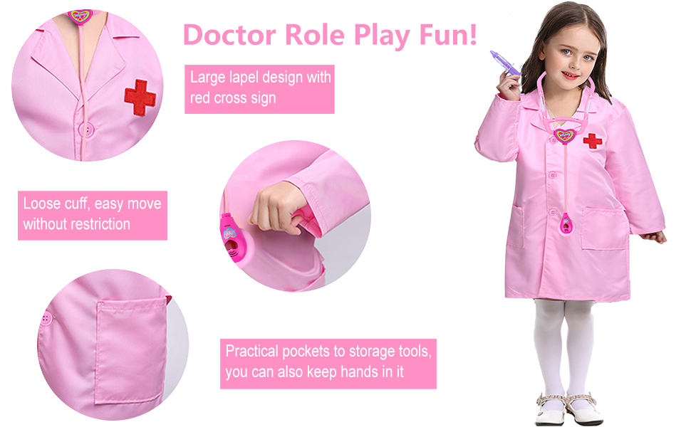 kids doctor role play game doctor costume