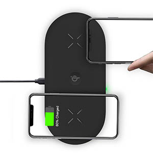 wireless charging pad for apple fast charger station for iphone 11 11pro  7 8 xr xs airpods