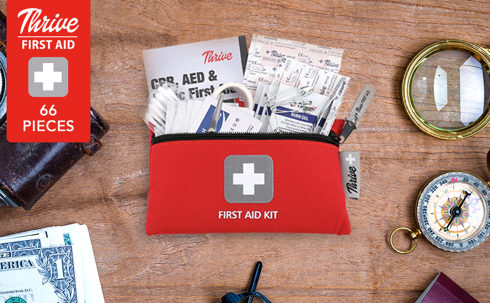 Thrive First Aid Kit Small and Light Bag