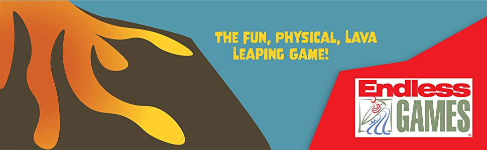 The Fun, Physical, Lava Leaping Game! Endless Games