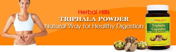 Triphala Capsule Powder Healthy Digestive Pills myrobalans Emblica officinale gooseberry amala