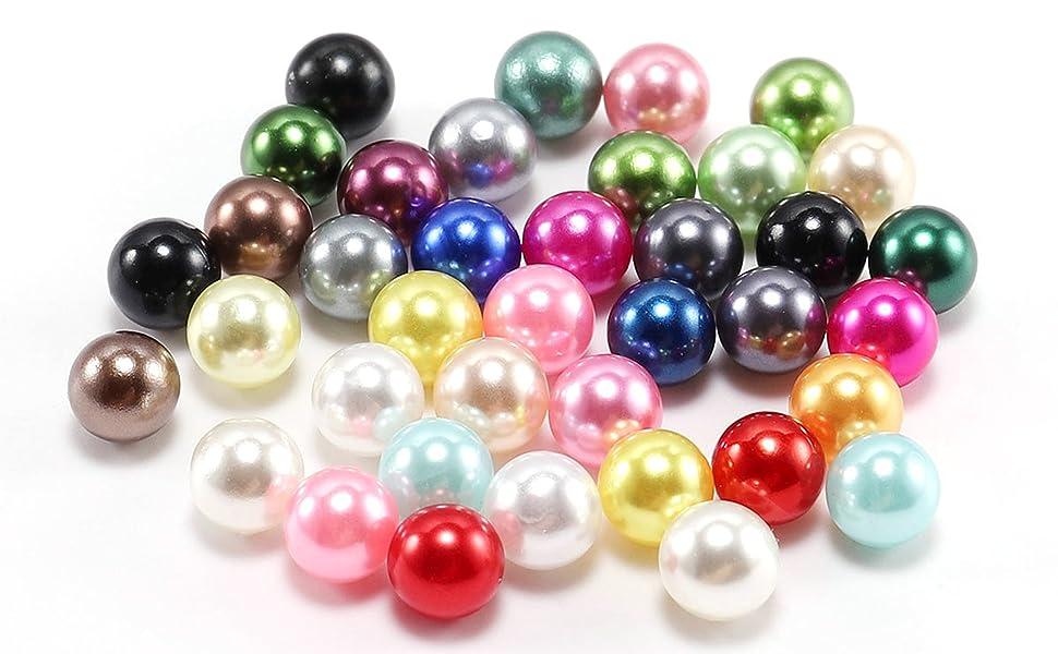 NO Hole Bead ABS Imitation Pearl