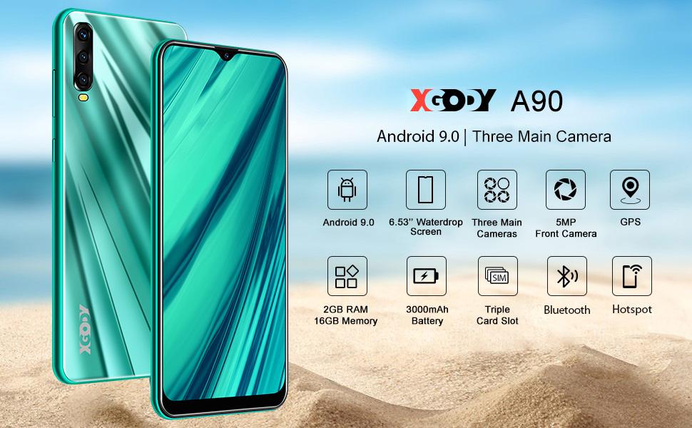 xgody a90 3g smartphone