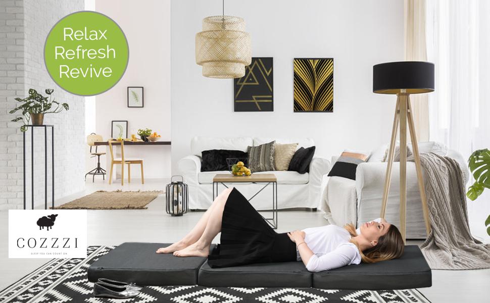 3 fold mattress relax refresh revive