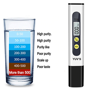 TDS & pH Meter Combo for Water Testing and Quality of PH & TDS Meter Combo