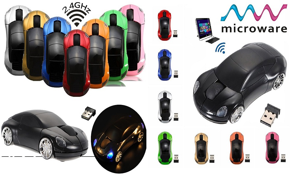 sports car shaped optical mouse