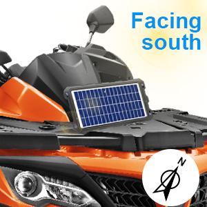powoxi solar battery charger
