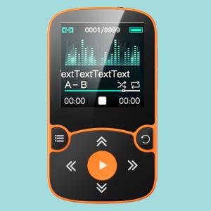 HiFi Lossless Sound Quality bluetooth MP3 player