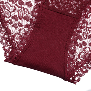 cotton crotch lace comfort panties