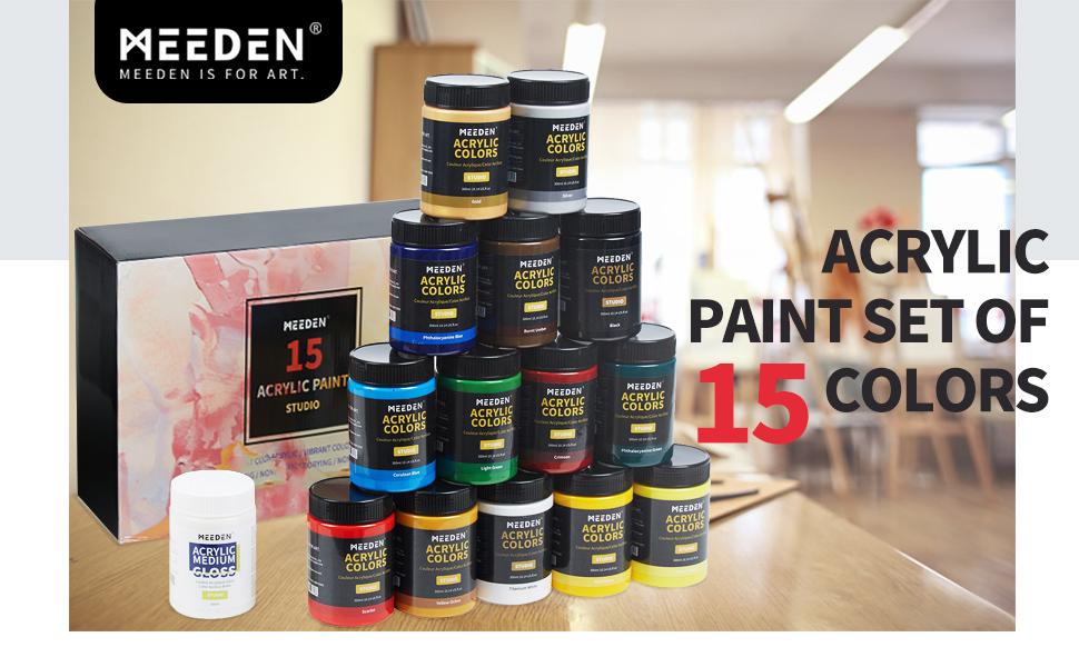 meeden acrylic paint