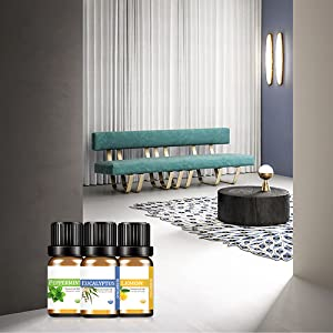 top essential oil set for household cleaning living room bedroom kitchen cleaning