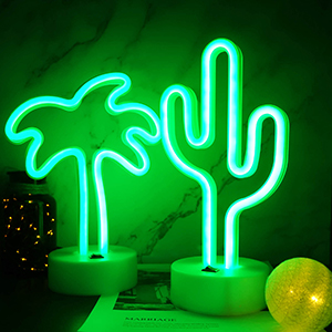 Coconut Palm Tree Neon Sign Bedroom Accessories Living Room Decor Party Decoration
