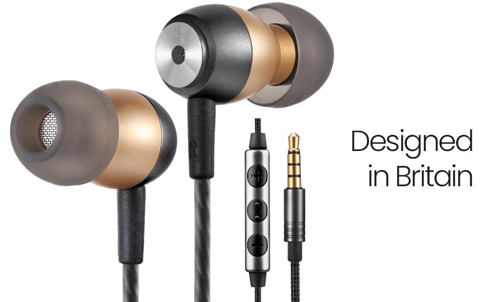 betron Gld60 noise isolating earphones