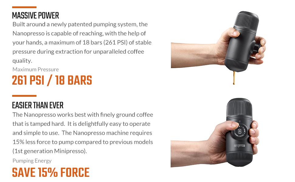 portable coffee maker