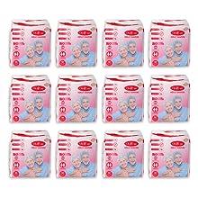 Adult Diaper Pack of 12