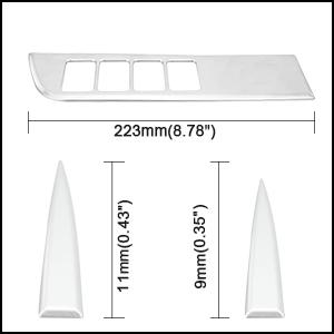 toyota highlander chrome trim