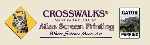 CROSSWALKS by Atlas Screen Printing