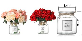 vase size