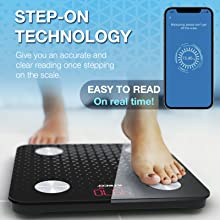 ilteco body composition smart scales