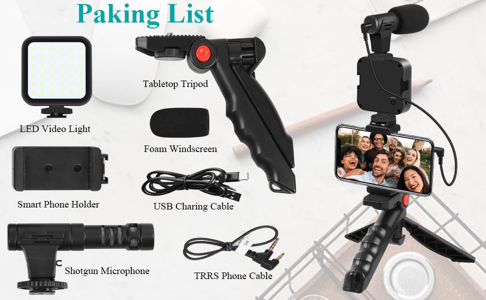 youtube video equipment