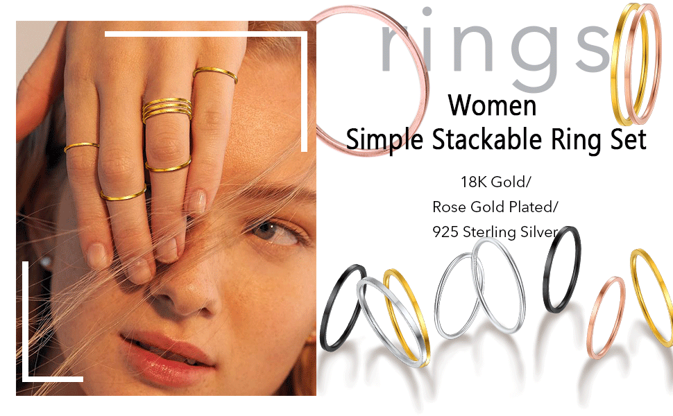 rings set for women