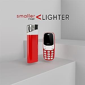 Smaller Than Lighter