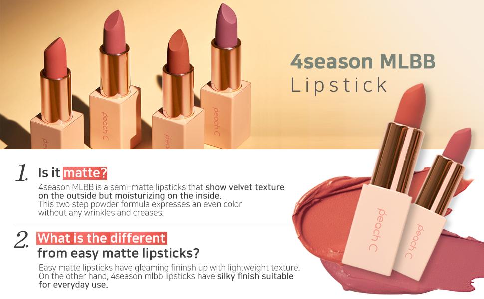 Peach C MLBB Lipstick_4color