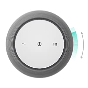 SNOOZ fan based adjustable white noise sound machine for sleeping for adults kids baby and children