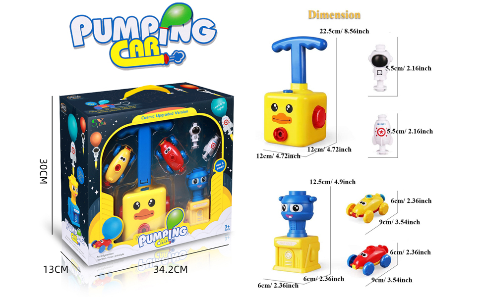 pumping car