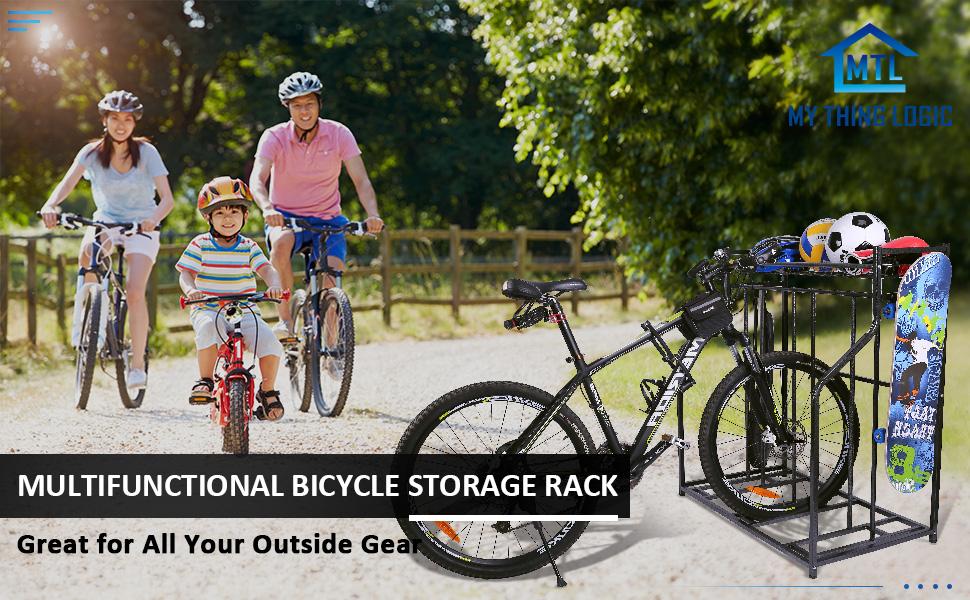 bike stand storage