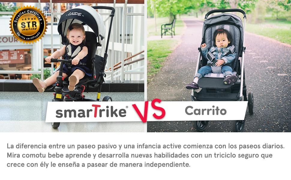 smarTrike VS Carrito