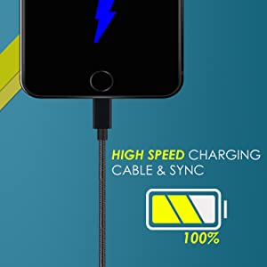 fast charging cable, iphone charging cable