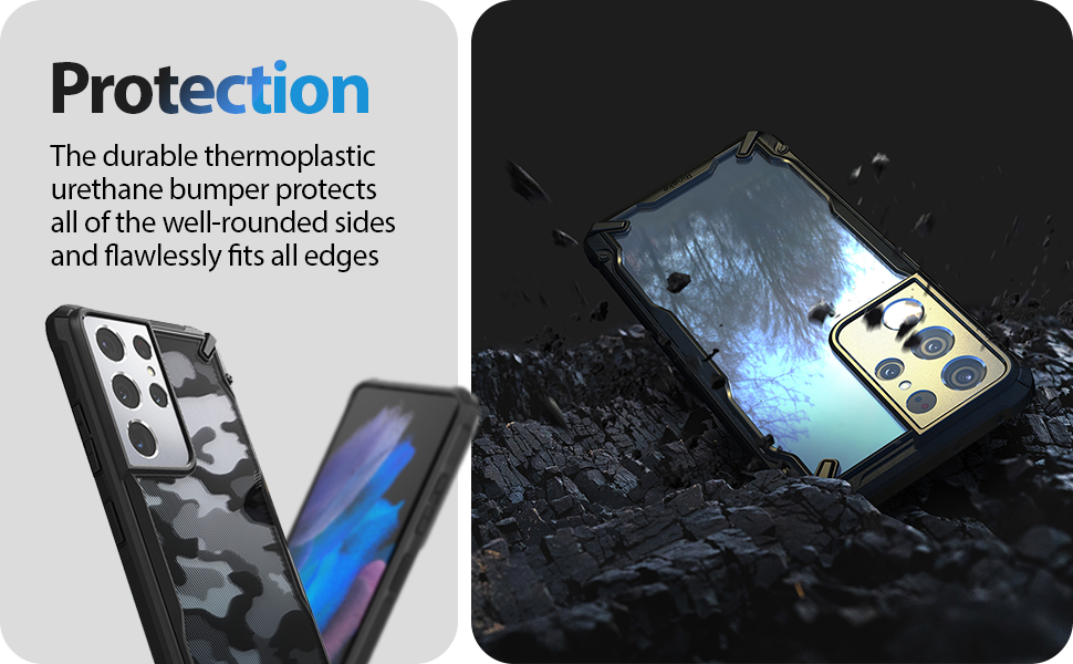 Ringke Fusion-X Case compatible with Galaxy S21 Ultra
