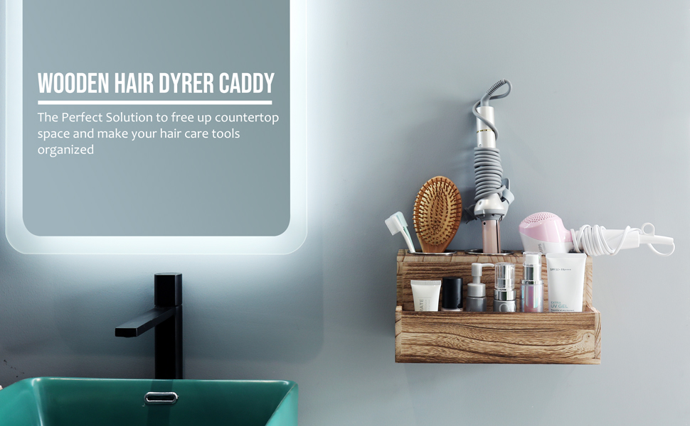 hair dryer caddy