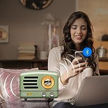 MUZEN OTR Radio Bluetooth Speaker