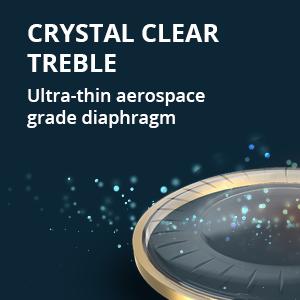 crystal clear treble