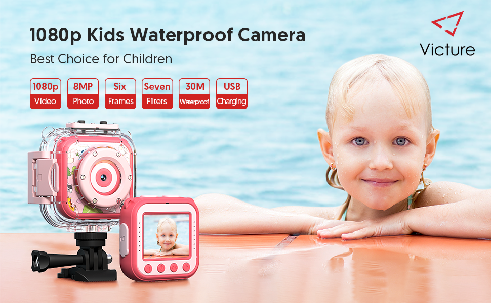 KC200 Kids waterproof action camera