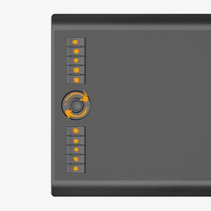 GAOMON  GAOMON 10 x 6,25 Pulgadas Tableta Gráfica Drawing Tablet 8192 Presión de Nivel con Pasiva Pluma-M10K 2018 Versión (M10K2018) 07ad3e46 ec01 4ded bb00 869120511717
