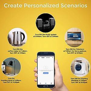 Create personalized scenario